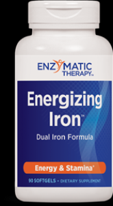 Energizing Iron (90 softgels) Enzymatic Therapy