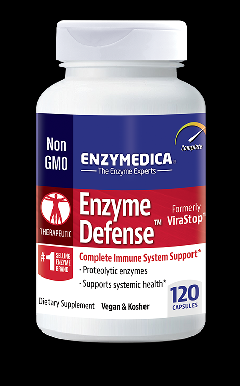 Enzyme Defense (formerly) Virastop (120 caps)* EnzyMedica