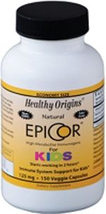 EpiCor for Kids (125mg 150 capsules) Healthy Origins
