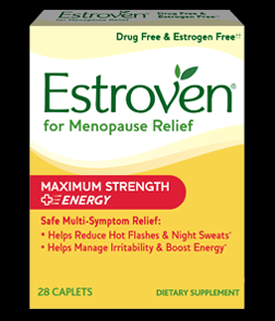 Estroven Maximum Strength Plus Energy (28 caplets) Amerifit