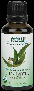 Organic Eucalyptus Oil   (1 oz) NOW Foods
