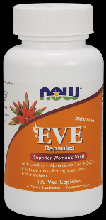 Eve Women's Multiple Vitamin (120 vcaps) NOW Foods