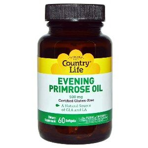 Evening Primrose Oil - 500mg (60 Softgel) Country Life