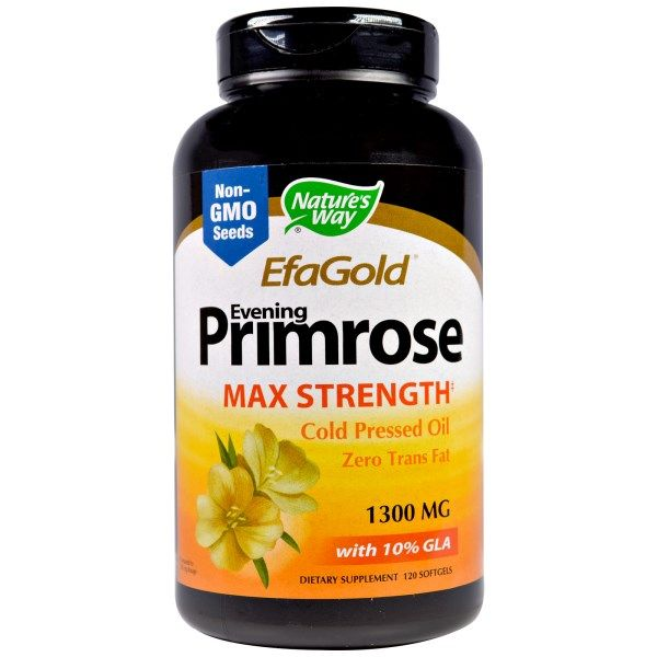 EFA Gold Evening Primrose 1300 mg (120 SGels) Nature's Way
