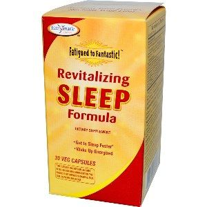 Fatigued to Fantastic! Revitalizing Sleep Formula (30 veg caps) Enzymatic Therapy
