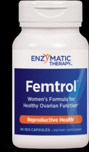 Femtrol (90  veg caps) Enzymatic Therapy