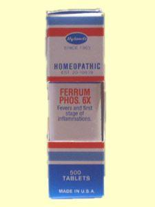 Ferrum Phos. 6X (500 Tab) Hylands