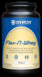 Flax-N-Whey - Vanilla (1.99 lbs) Metabolic Response Modifiers