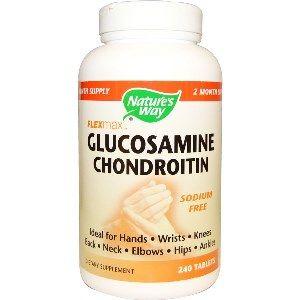 Glucosamine Chondroitin, FlexMax ( 240 tablets ) Nature's Way