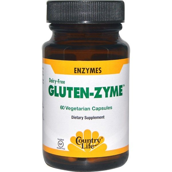 GlutenZyme (60 capsules) Country Life