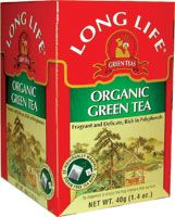 Green Tea, Organic Long Life Tea