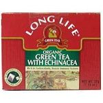 Green Tea with Echinacea, Organic Long Life Tea