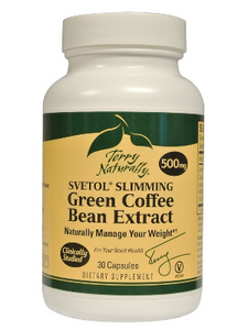 Svetol Slimming Green Coffee Bean Extract (500 mg 30 capsules) Terry Naturally