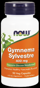 Gymnema Sylvestre 400 mg (90 Caps) NOW Foods
