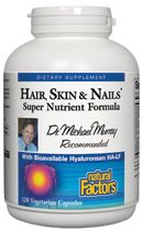 Hair, Skin & Nails (120 VCaps)* Natural Factors