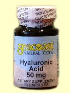 Hyaluronic Acid (60 caps) Seacoast Vitamins