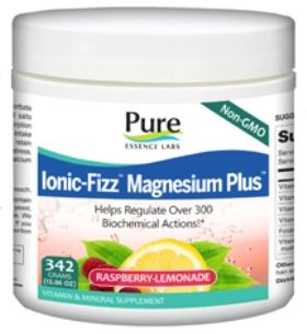 Ionic-Fizz Magnesium Plus (342 gm)* Pure Essence Labs