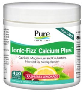 Ionic-Fizz Calcium Plus (420 gm)* Pure Essence Labs