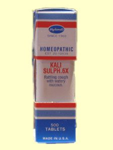 Kali Sulph. 6X (500 Tab) Hylands