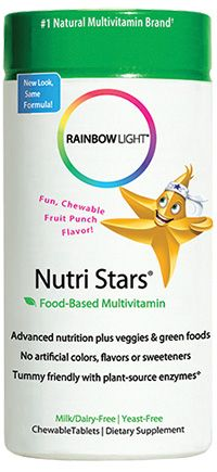 NutriStars for Kids Delicious Fruit Blast (60 tablets)* Rainbow Light