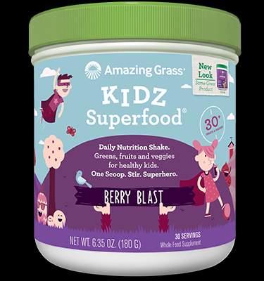 Kidz SuperFood (Berry 6.35 oz) Amazing Grass