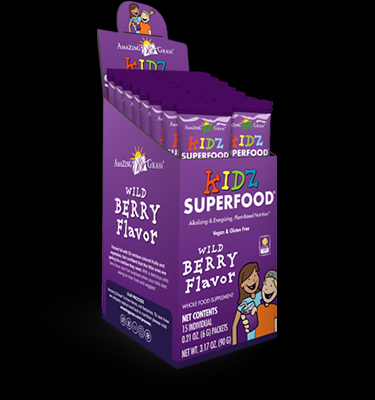 Kids SuperFood Wild Berry (15 packets) Amazing Grass