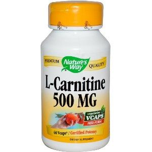 L-Carnitine  ( 60 Vcaps )* Nature's Way