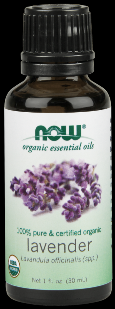 Organic Lavender Oil   (1 oz) NOW Foods