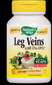 Leg Veins (120 Vcaps) Nature's Way