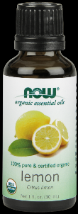 Organic Lemon Oil   (1 oz) NOW Foods