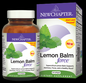Lemon Balm Force (30 softgels)* New Chapter Nutrition