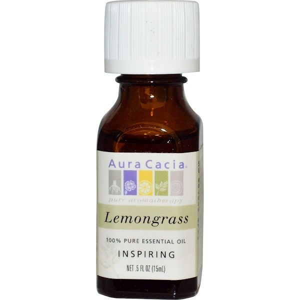 Lemongrass Essential Oil (.5oz) Aura Cacia