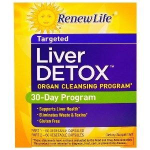 Liver Detox (2-part kit)* Renew Life