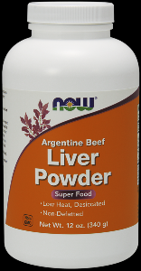 Liver Powder (12 oz) NOW Foods