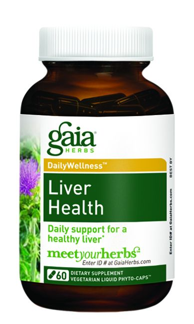 Liver Health (60 caps)* GAIA Herbs