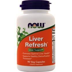 Liver Refresh (90 caps) NOW Foods