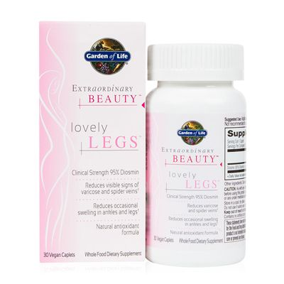 Extraordinary Beauty - Lovely Legs (30 Caplets)* Garden of Life