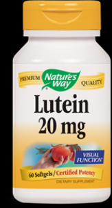 Lutein 20 mg   ( 60 softgel ) Nature's Way