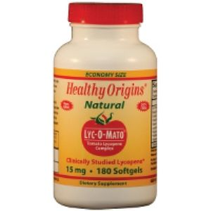 Lyc-O-Mato (Lycopene) (15mg 180 softgels) Healthy Origins