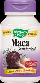 Maca, Standardized (60 caps) Nature's Way