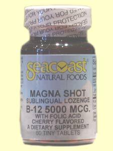 B12 Magna Shot 5000mcg (60 Tabs) Seacoast Vitamins