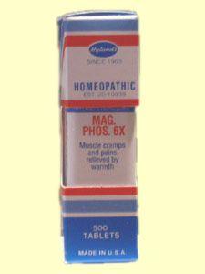 Mag Phos 6X (500 Tabs) Hylands