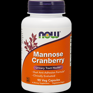 Mannose Cranberry (90 Veg Caps) NOW Foods