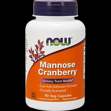 Mannose Cranberry (90 Veg Caps) NOW Foods