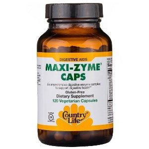 Maxi-Zyme Caps (120 vcaps) Country Life