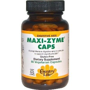 Maxi-Zyme Caps (60 vcaps) Country Life