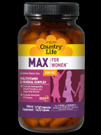 Maxine for Women, Iron Free (120 vcaps) Country Life