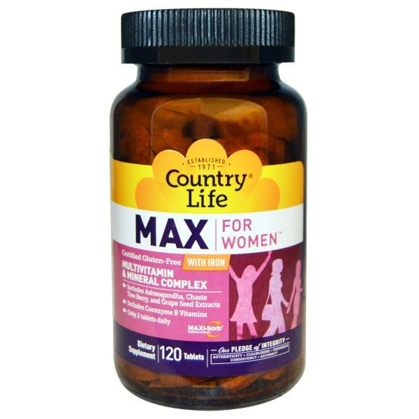 Maxine, Daily Multiple for Women (120 tablet) Country Life