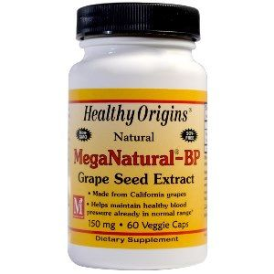 MegaNaturaI BP Grape Seed Extract 150mg (60 capsules) Healthy Origins