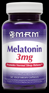 Melatonin (3mg 60 Vcap) Metabolic Response Modifiers